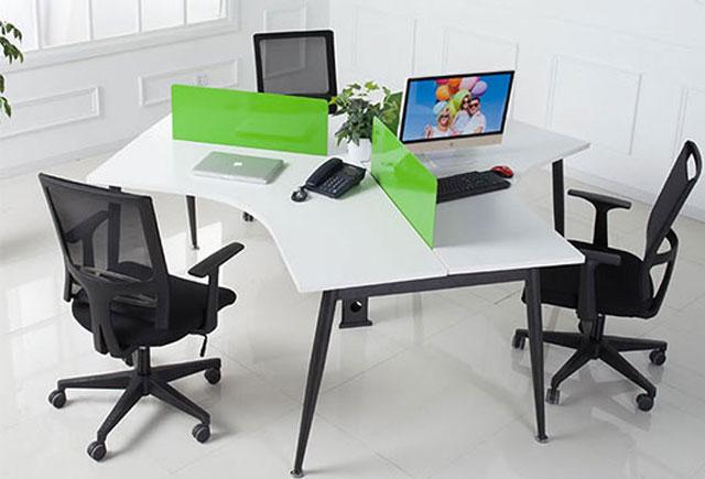 三人位办公桌―三人组合办公桌―办公桌三人位