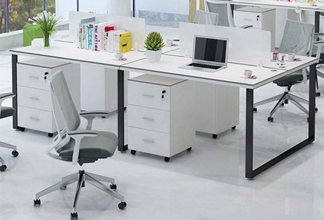 白色办公桌