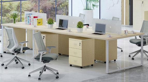 长排办公桌样式