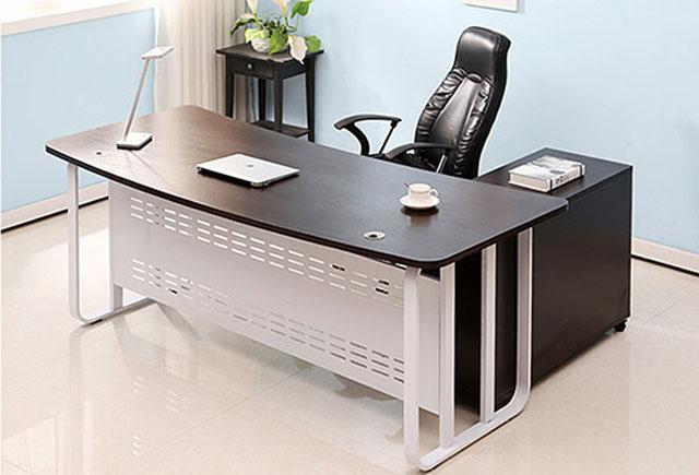 弧形办公桌―单人弧形办公桌-单人弧形办公桌样式