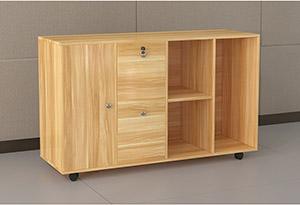 钢木经理办公桌侧柜