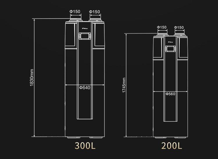 芬尼空气能热水器使用说明-上海品源装修建材网