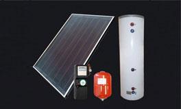 分体式平板太阳能热水器