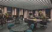 新式整体办公家具