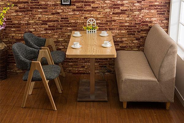 咖啡厅桌椅 甜品店桌椅 沙发卡座 CT151115-品源