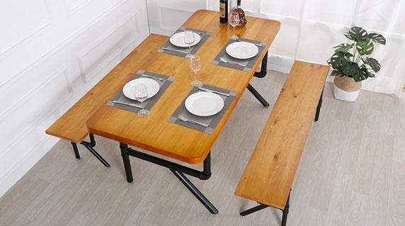 中式餐桌椅设计