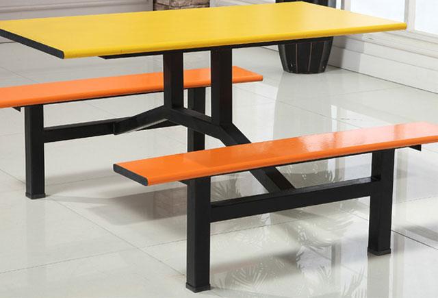 四人位快餐桌椅 一桌四椅组合 WCZY023