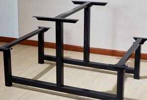 职工餐厅桌椅餐桌脚