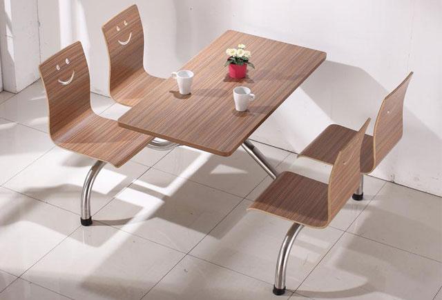 食堂桌椅-食堂餐厅桌椅-食堂餐桌椅定做