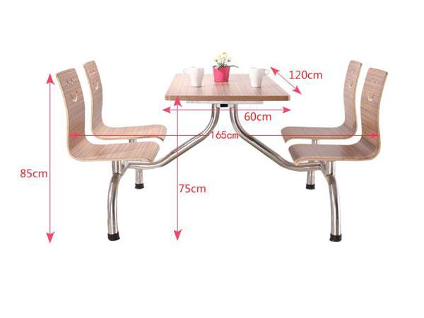 食堂餐桌椅尺寸