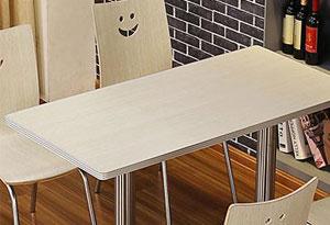 食堂餐桌材质