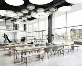 咖啡厅家具定制案例-品源餐厅家具案例