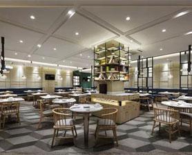茶餐厅家具定制案例-品源餐厅家具案例