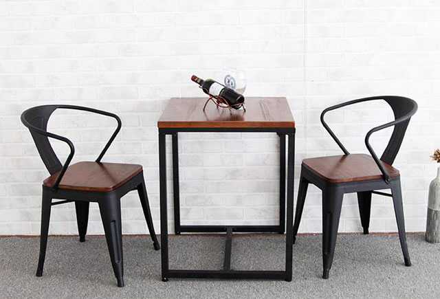 铁艺咖啡桌椅定制