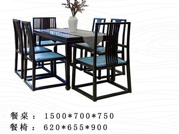简约餐桌中式尺寸