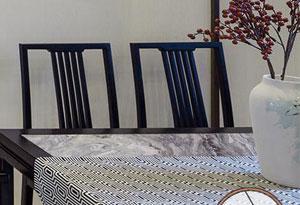 简约餐桌圆润设计
