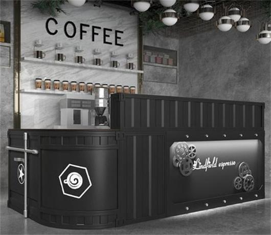 咖啡厅咖啡馆收银台吧台 咖啡店收银台前台