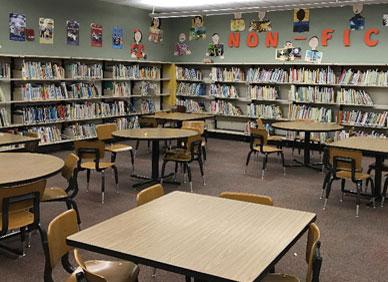 小学图书馆设计方案