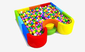 儿童海洋球池