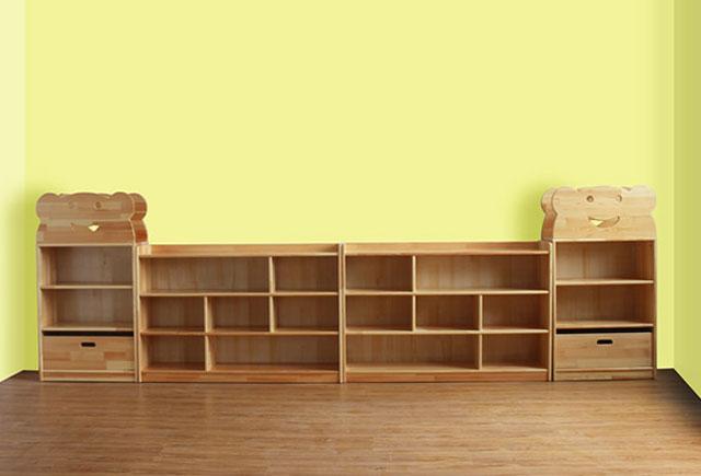 幼儿园儿童整理组合柜