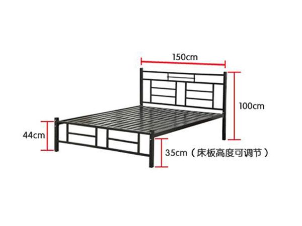 1.2米宿舍床尺寸