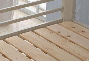 8人宿舍床位松木床板