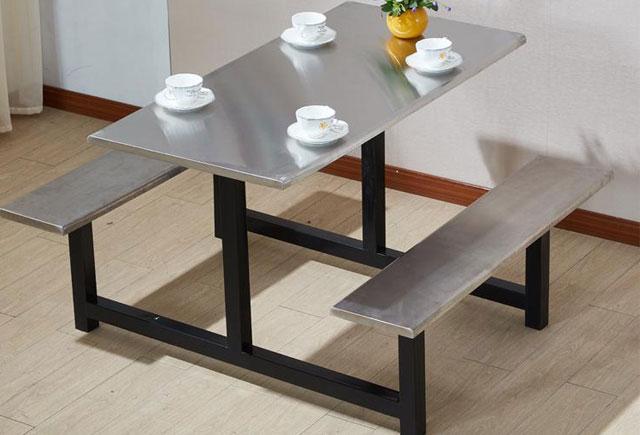 职工食堂餐厅桌椅-职工餐厅桌椅