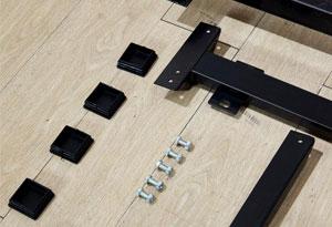 职工餐厅桌椅金属配件