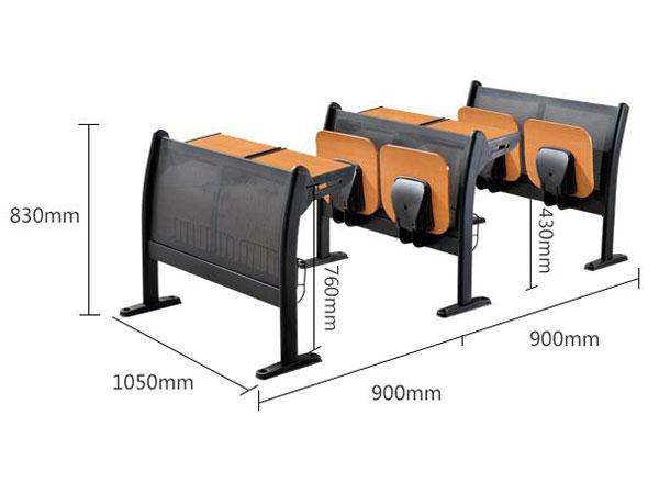 大学课桌椅尺寸