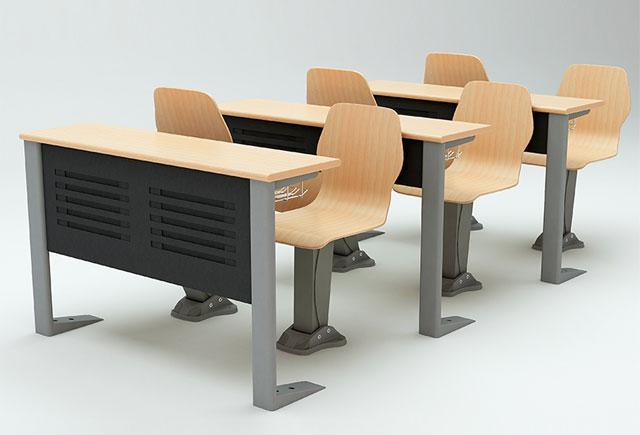 大学课桌椅