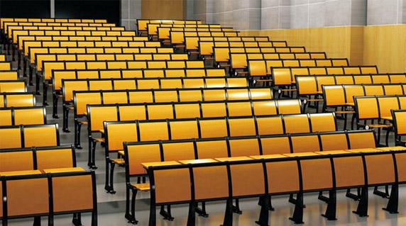 教室学生课桌椅收纳空间