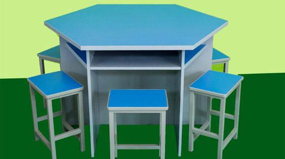 计算机培训教室桌椅定制