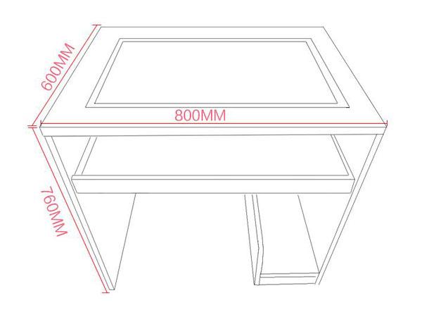 多媒体教室课桌椅尺寸
