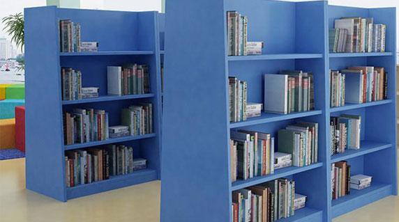 教室图书馆书架设计