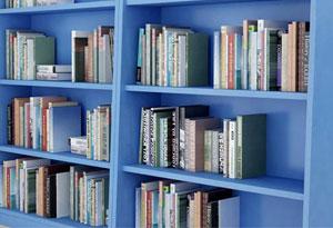 学校图书馆书架面板材质