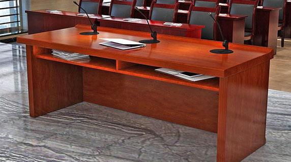 大型会议主席台设计