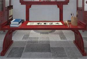 书法培训课桌环保油漆