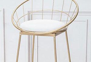 咖啡店吧椅靠背设计