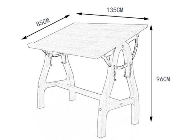 美术培训班桌子尺寸