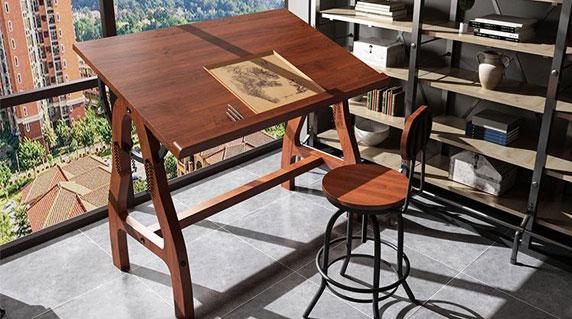 书法绘画桌椅特点