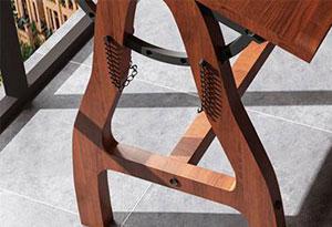 美术教室桌椅脚部设计