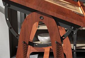 美术教室桌椅设计