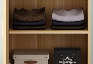 公寓衣柜底部加高设计
