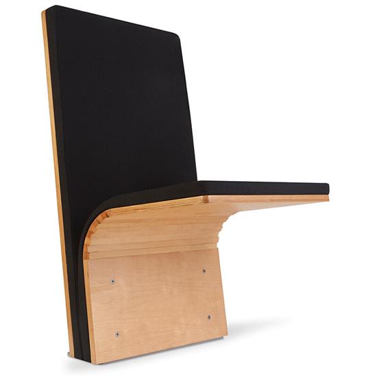 固定墙壁礼堂椅座椅 报告厅礼堂椅折叠