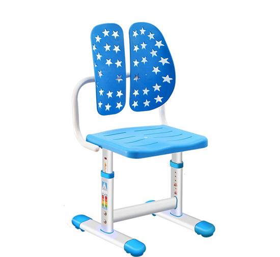 学生课椅双背椅 abs塑料课椅可调节