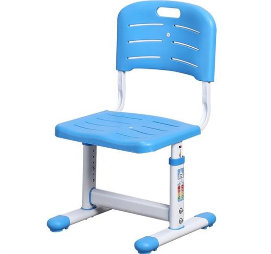 学生座椅带靠背可升降 abs塑料课座椅可调节