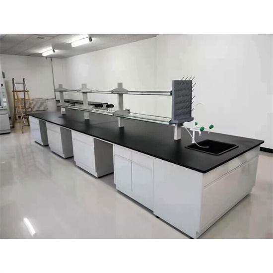 全钢实验台中央台柜 PP实验台工作台750*800mm