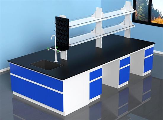 学校实验室实验桌 实验桌中央台通风橱柜