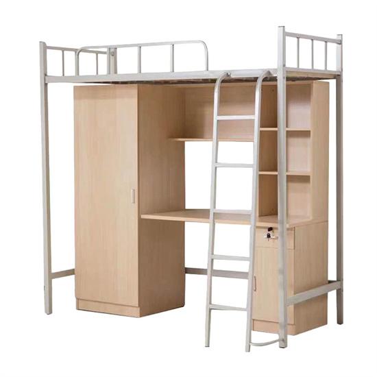 学生宿舍上床下桌 单人上床下桌下柜