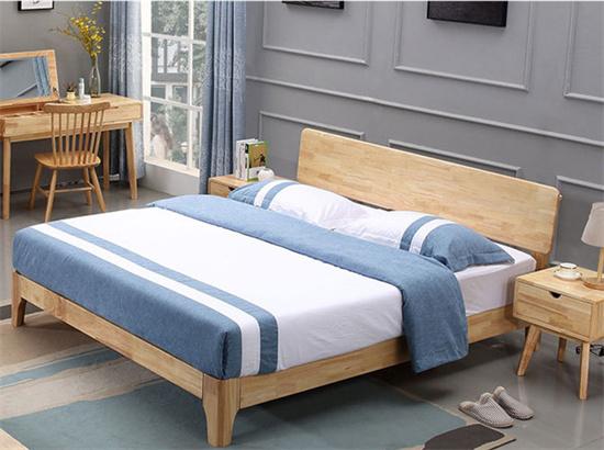 学生公寓床双人 实木公寓床1.8米